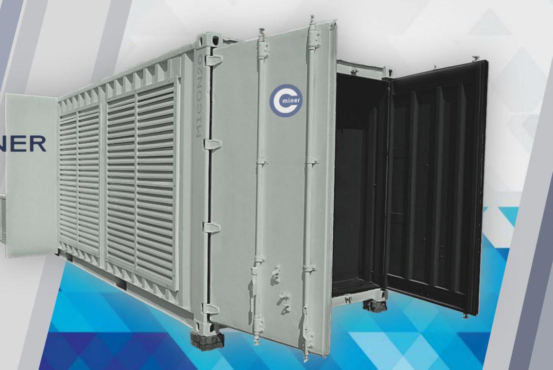 Bitcoin Mining Container MICON20 Dubai