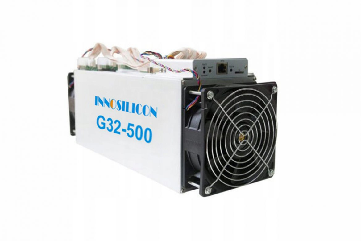 Buy Innosilicon G32-500 @ miner.ae