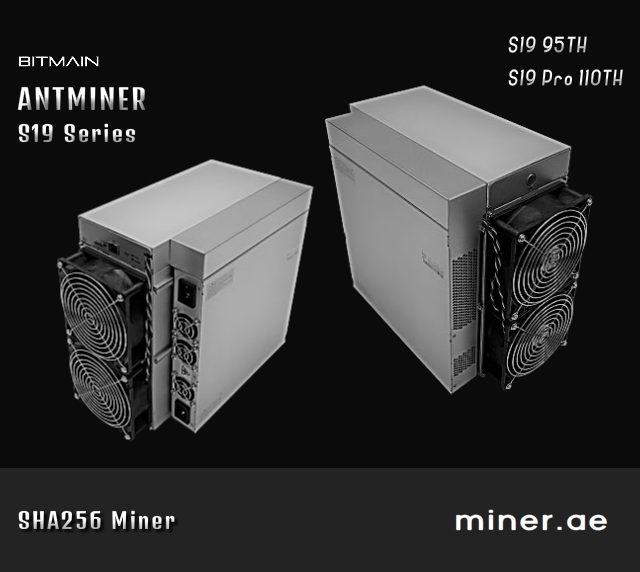 Bitmain Antminer S19 Pro 110TH Bitcoin Miner - Bitcoin Mining in Dubai